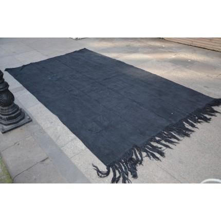 Black Hemp Rug