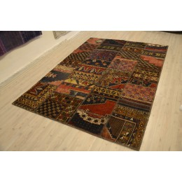 naturel Handmade Patchwork Carpet