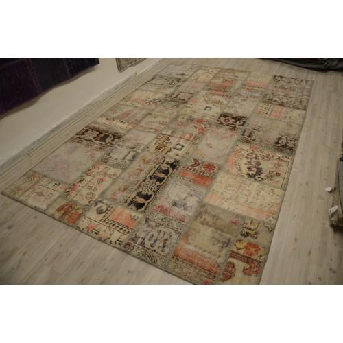 naturel Handmade Patchwork Carpet