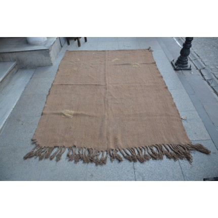 Brown Hemp Rug