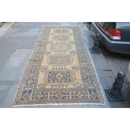 Orange Faded Runner Rug