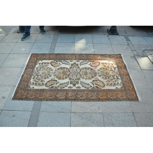 Floral Faded Rug