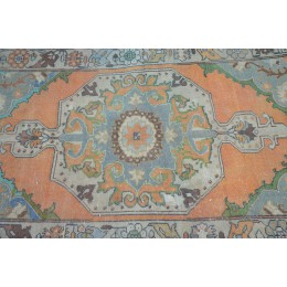 Orange Oushak Rug