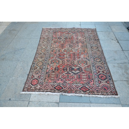 Faded Oushak Rug
