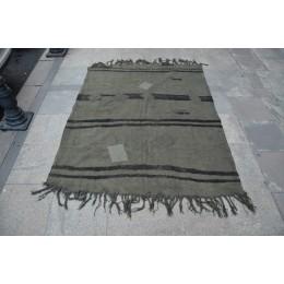 Khaki Black Rug